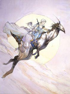 Yoshitaka Amano - Into the Dawn - Final Fantasy V