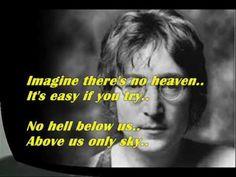 John Lennon - Imagine - Lyrics - YouTube