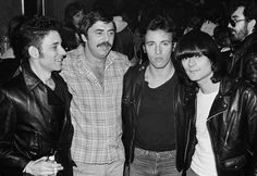 Mister Bruce Springsteen — bruce with robert gordon, tommy dean & dee dee...