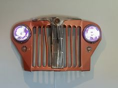 Here's something a little different. This is a story about something we found while excavating for a pool and the journey the item took from trash to treasure. #jeep #jeepwillys #grillrestoration #carrestoration #landscaping #wallart