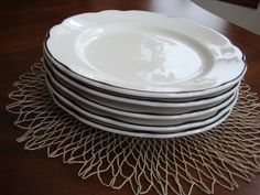 Buffalo China Manhattan Restaurant Ware Plates! by BucketListGarnishes on Etsy