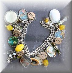 Love Nancy Drew. Love charm bracelets. Love this.