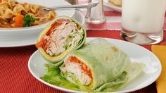 Buffalo Tofu Wrap-Dr Oz
