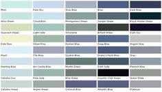 Valspar Paints, Valspar Paint Colors, Valspar Lowes - Colony - samples, swatches, paint chips, palettes