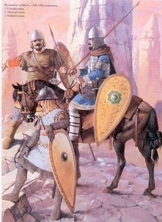 Byzantine Soldiers 12th and 13th Centuries