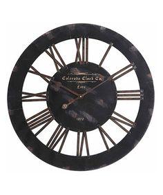 Loving this Elko Clock on #zulily! #zulilyfinds