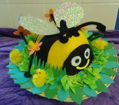 Cute Bumble Bee Boys/Girls Handmade Easter Bonnet