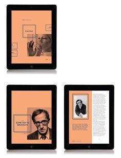 Arts & Culture Magazine // E-Publishing by Katie Baxendale, via Behance
