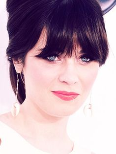 Zooey, soft black hair color