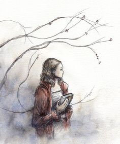 'Girl with a book'