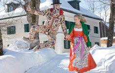 Aktuelle Winter-Trachtenkleidung von Susanne Spatt