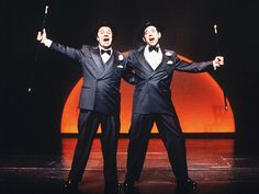 Nathan Lane (Max Bialystock) and Matthew Broderick (Leo Bloom) in the Original Broadway Production of The Producers
