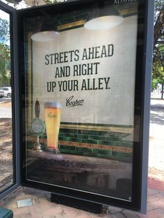 Coopers Beer Ad (my image)