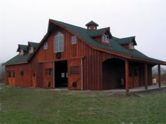 Western Classic Barns | This Whidbey Island, Washington barn is ready to bring in the lavender ...