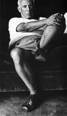 Man Ray: Pablo Picasso, 1955