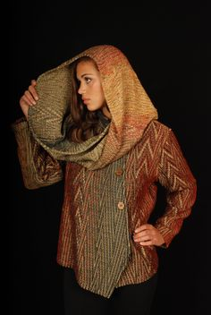 Arlene Wohl is coming to Omaha with her exquisite hand-woven designs: September 24 - see wearable art l. board for details or call me at Wearable Art, Fiber Art, Spinning, Hand Weaving, Art Projects, September, Turtle Neck, Board, Happy