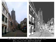 https://flic.kr/p/F9jdLY | Before & After: 10 | Kleine Kerkstraat (Venlo)  Before version used in flic.kr/p/oW4nKg