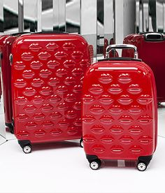 All Luggage by LuLu Guiness. I LOVE this designer.