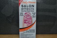 """sally hansen nail strips. i've tried this """"color"""" and loved them"""
