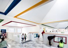 Called the Kathleen Grimm School for Leadership and Sustainability, the 444 seat, 68,000-square-foot (6,317-square-metres) primary school is located on Staten Island, the least populated of New York City's five boroughs.