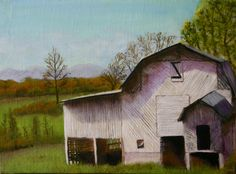 """Jupiter Barn,"" oil on linen/panel, 9"" x 12"", 2016"