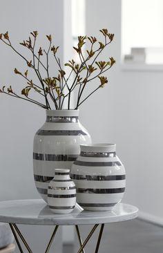 Så er det i denne uge den længe ventede Kähler - Omaggio Vase Sølv serie kommer #inspirationdk #nyhed #danskdesign