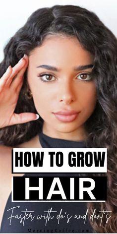 How to grow hair faster ~Morningko