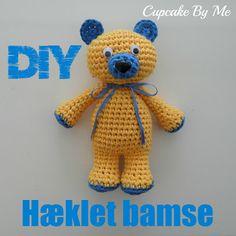 Cupcake By Me Blog ©: DIY - Hæklet bamse bjørn
