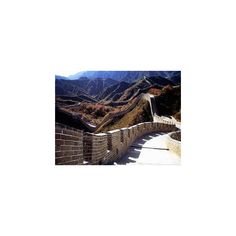 Best Wallpaper Anime The Great Wall, Beijing For China, Photos And... ❤ liked on Polyvore featuring home and home decor