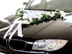 Autoschleifen Hochzeit || Foto undn Schleife von Zauberdeko via DaWanda  | http://www.hochzeitsplaza.de/hochzeitsauto | Hochzeitsplanung, Hochzeitsfotos, Autoschmuck Hochzeit, blumenschmuck hochzeitsauto, Autodeko Hochzeit