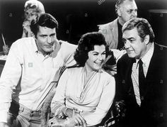 Barbara Hale and Raymond Burr on Ironside