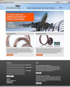 Kunde: Admotec Precision AG | Branche: Mess- und Regeltechnik | Werbemittel: Website | Erscheinung: einmalig | Umfang: Standard