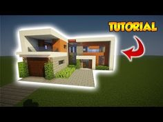 http://minecraftstream.com/minecraft-tutorials/minecraft-large-modern-tutorial-how-to-build-a-modern-house-1/ - Minecraft: Large Modern Tutorial - How to build a Modern House #1 Hey guys, so today I've got a Cool Large Modern House tutorial for you guys and it took over 6 hours to make!!!. It's very easy to build and it will look great in your world. Anyway, the video should be in 60FPS so enjoy the smooth quality. This house was made by me and it took a...
