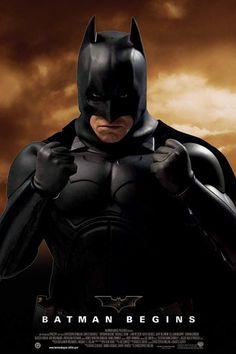 Batman Begins with Christian Bale, Liam Neeson and Gary Oldman. Batman Film, Le Joker Batman, I Am Batman, Marvel Dc Comics, Funny Batman, Batman Suit, Marvel Films, Batman Arkham, Bruce Wayne Christian Bale