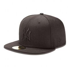 Gorra New Era Black On Black NY Yankees 59FIFTY Fitted New Era Fitted 46ac8d86b3a