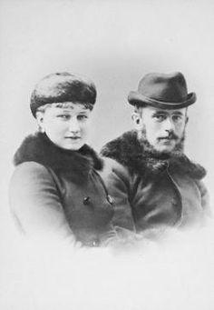 Kronprinz Rudolf mit Gemahlin. Photographie von C. Pietzner.