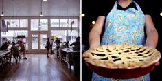 """PieLab in Greensboro, Alabama: """"A combination pop-up cafe, design studio and civic clubhouse with the mission of: ' Pie + Ideas = Conversation. Conversation + Design = Social Change.' """""""