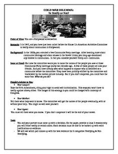 cold war aims free printable worksheet for high school american history social studies. Black Bedroom Furniture Sets. Home Design Ideas