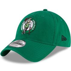 buy online bdd50 9f65f Boston Celtics New Era Official Team Color 9TWENTY Adjustable Hat - Kelly  Green