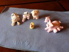 Farm animals - Gum paste and royal icing.