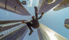 It's a bird, it's a plane... it's Justin Kaplan, soaring through the streets of Los Angeles. Have a tripod? GoPro cameras can be mounted on any standard tripod with the Tripod Mount: http://shop.gopro.com/mounts/tripod-mounts/ABQRT-001.html#/start=1