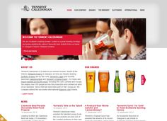 Tennent Caledonian launches new business website developed by Whitespace