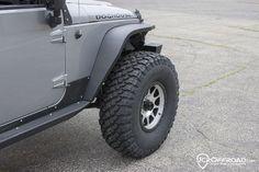 JcrOffroad: JcrOffroad Crusader Front Standard Width Fender Flares - Jeep Wrangler & Wrangler Unlimited JK (07-1