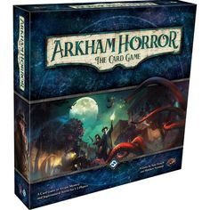Fantasy Flight Games Arkham Horror: The Card Game : Target Board Games For Couples, Fun Board Games, Couple Games, Set Card Game, Card Games, Lovecraftian Horror, Your Strengths And Weaknesses, Custom Deck Of Cards, The Ancient One