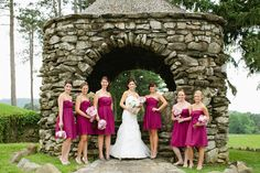 These J.Crew bridesmaid gowns are rockin' our world. Photography by AriellePhoto.com, Bridesmaid Dresses by jcrew.com