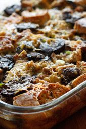 Make-Over-Breakfast-Sausage-and-Mushroom-Strata