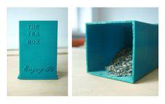 POJEMNIK NA HERBATĘ #3d #3dprinting #domlab #domlabPL #tea #box