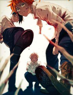 the promised neverland amor boy dark manga mujer fondos de pantalla hot kawaii Manga Anime, Fanarts Anime, Otaku Anime, Anime Characters, I Love Anime, Anime Guys, Norman, Anime Lindo, Fan Art