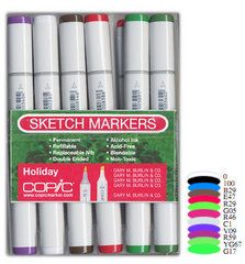 Copic - Sketch Marker Set - Holiday