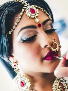 Raina's Wedding makeup. Raina and Tyylin has became really close friends after she planned her wedding